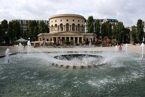 Bassin De La Villette, Paris, Rotonde