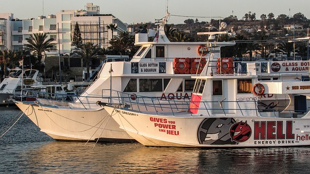 Cyprus, Ayia Napa, Harbour, Boats, Tourism, Cruises