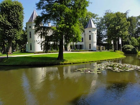 Netherlands, Mansion, House, Home, Estate, Architecture