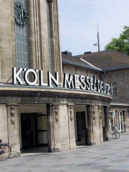 Cologne, Cologne Fair, Input, Portal, Architecture