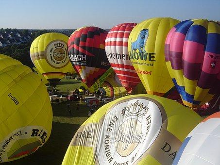 Ballooning, Balloon Launch, Hot Air Balloon, Aviation
