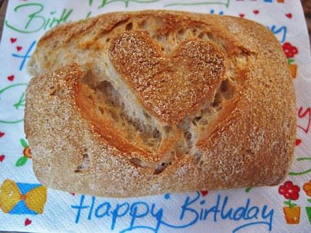 Rolls With Heart, Breakfast, Bread, Pastries, Baked