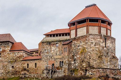 Esztergom, Castle, Tower, The Danube Bend, Hungary