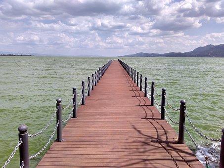 Dianchi Lake, In Yunnan Province, Kunming