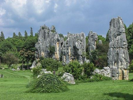 China, Yunnan, Scenery, The Stone Forest