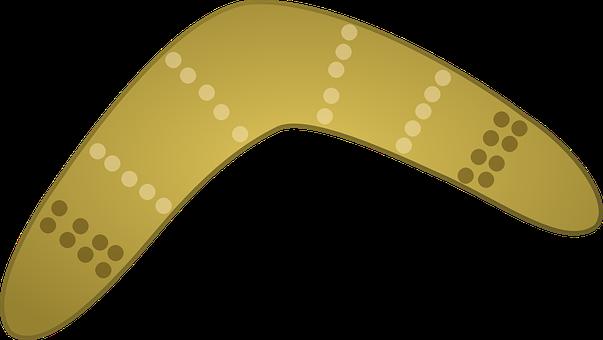Boomerang, Aboriginal, Weapons, Australian, Toy
