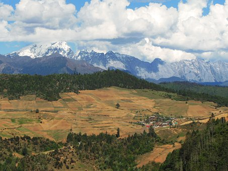 China, Yunnan, Landscape, Wilderness, Scenery, Natural