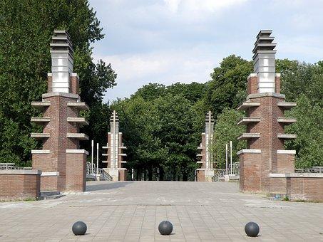 Antwerpen, Bridge, Expo, Belgium, Crossing, Way