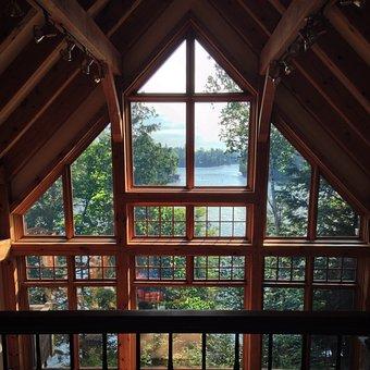 Ahmic Lake, Lake, Cottage, View, Ontario