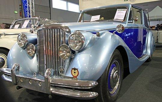 Oldtimer, Jaguar V, Old Car, Nostalgia, Classic