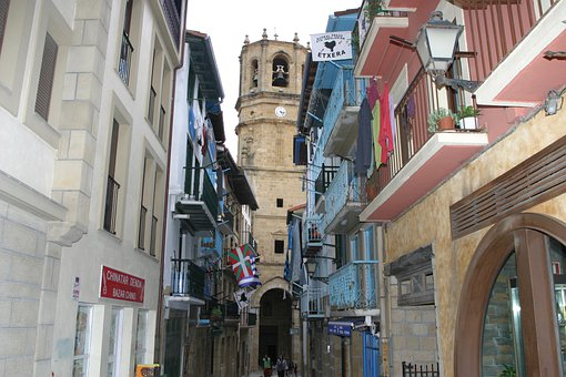Old Town, Northern Spain, Places Of Interest, Port City