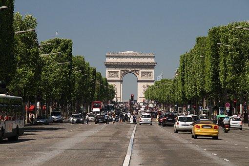 Arc Triumph, Paris, Monument, Landmark, Architecture
