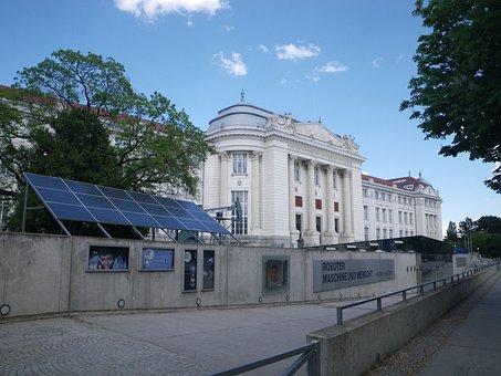 Museum, Building, Technical Museum, Vienna