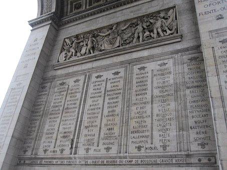 Triumph Arc, Architecture, Landmark, Paris, Travel