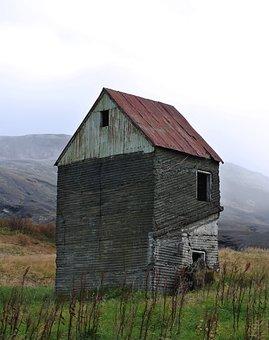 Abandoned House, Haunted House, Iceland, House, Cottage