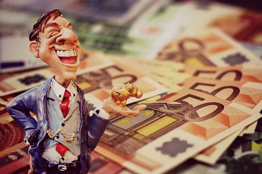 Profit, Businessman, Finance, Boom, Capital Market
