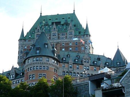 Castle, Quebec City, Frontenac, Canada, Old