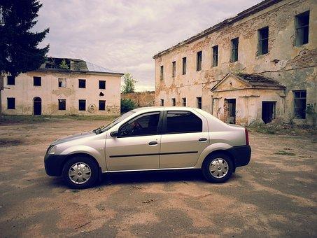 Auto, Car, Tourism, Renault Logan, Summer, Dacia Logan