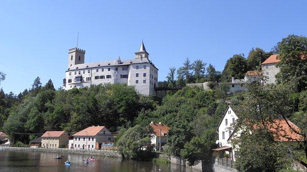 Castle, South Bohemia, Buquoy, Architecture, Building
