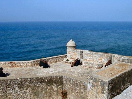 Fort, Castle, Santiago De Cuba, Cuba