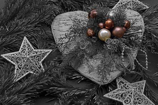 Christmas Heart, Christmas, Decoration