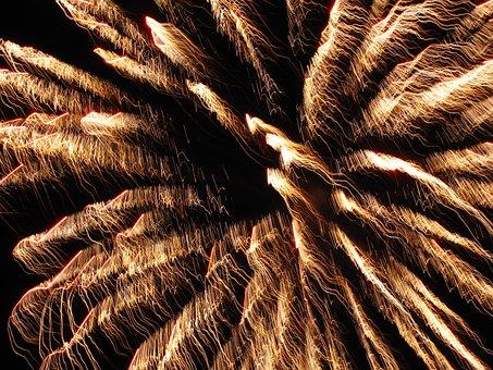 Fireworks, Explosion, Pyrotechnics, Burst, Celebration