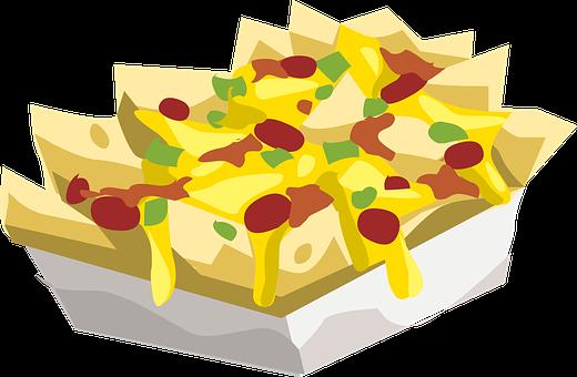 Food, Nachos, Snack, Sauce, Tomato, Salsa, Spicy, Tasty