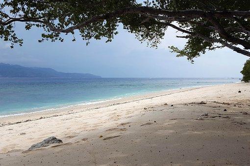 Indonesia, Travel, Gili Islands, Sea, Water, Beach
