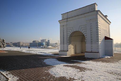 Irtysh, Omsk, Irtysh Gate, Beach