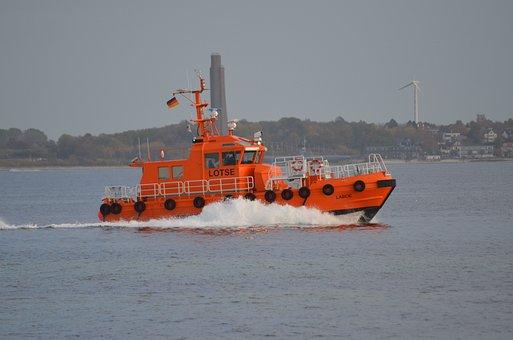 Kiel, Strande Pilot Boat, Laboe, Kieler Firth