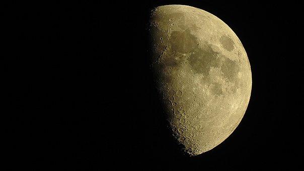 Moon, P900, Space, Sky, Moonlight, Astronomy, Night Sky