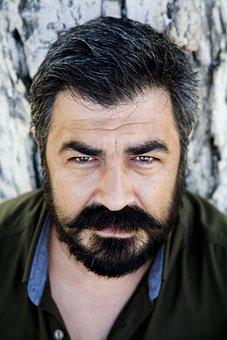 Portrait, Mustache, Overview, Eye, çaycuma, Zonguldak