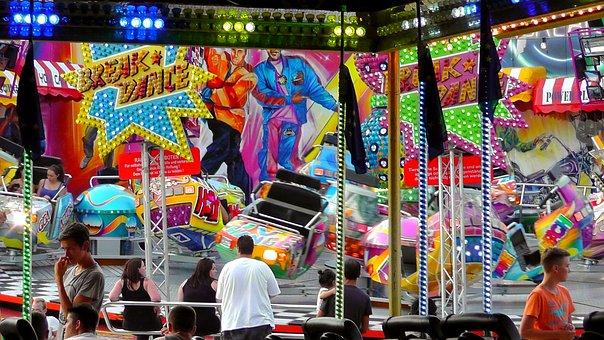 Fair, Rides, Folk Festival, Celebrate, Festival, Light