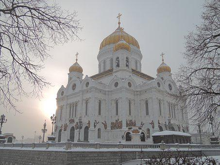 Temple, Russia, Moscow, Christ The Savior Cathedral