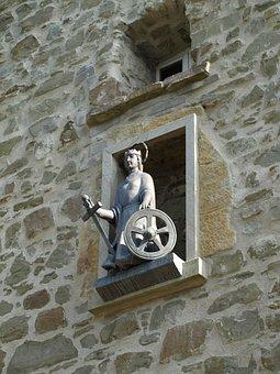 Katharinenturm, Catherine, City Blankenberg, Statue