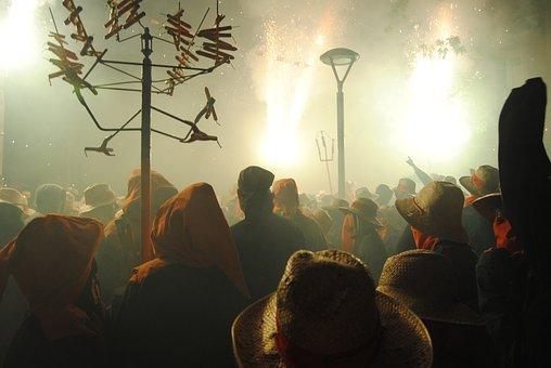 The Camell, Molins De Rei, Diables, Festival