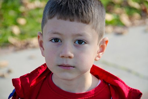 The Innocence, Child, Face, Portrait, Male, Boy