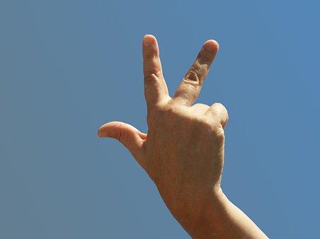 Hand, Three, Every Third, Three Fingers