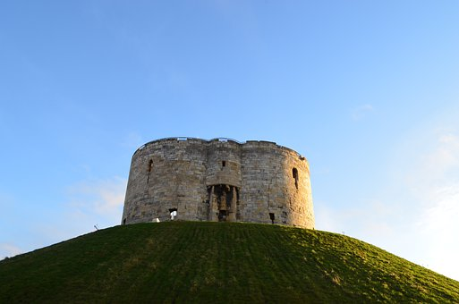 Tower, York, Clifford's, Architecture, Background