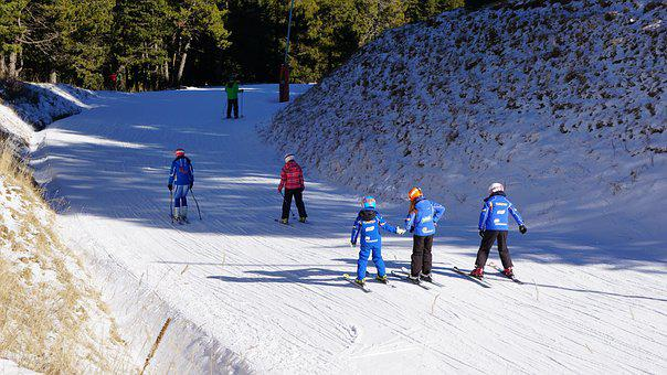 Snow, Skiers, Ski, Winter, White, Winter Sports, Nevada