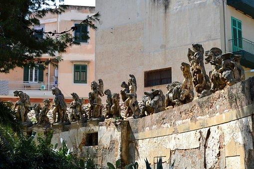 Villa Palagonia, Bagheria, Sicily, Palermo