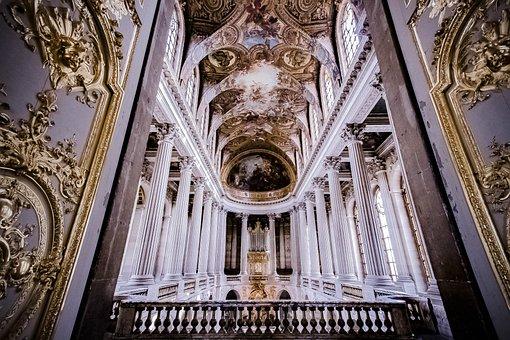 Versailles, Palace, France, Paris, Building