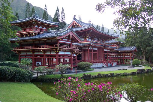 Byodo-in Temple, Oahu, Asian, Chinese, Temple, Culture