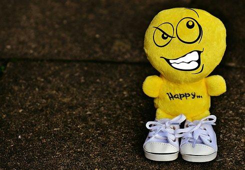Smiley, Deceitful, Sneakers, Funny, Emoticon, Emotion