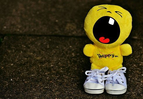 Smiley, Evil, Roar, Scream, Sneakers, Funny, Emoticon