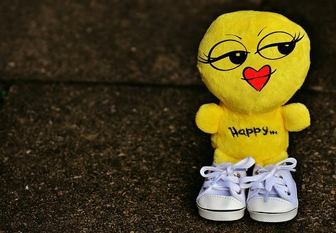 Smiley, Girl, Laugh, Sneakers, Funny, Emoticon, Emotion