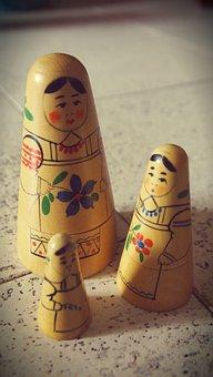 Matroeska's, Crafts, Hand Painted, Nostalgia, Vintage