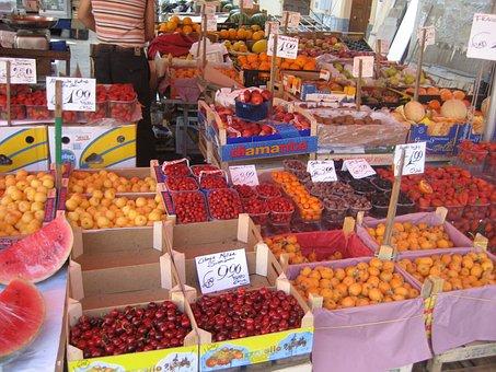 Market, Palermo, Italy