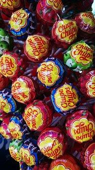 Candy, Sweet, Stick, Lollipop, Chupa Chups