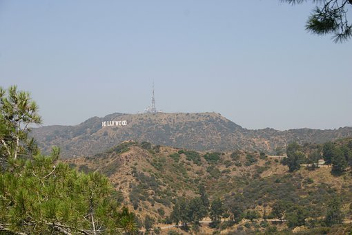 Losangeles, California, Usa, Hollywood, Hollywood Sign